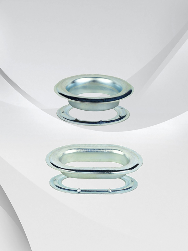 Galvanized Steel Round and Oblong ( Oval ) Grommet